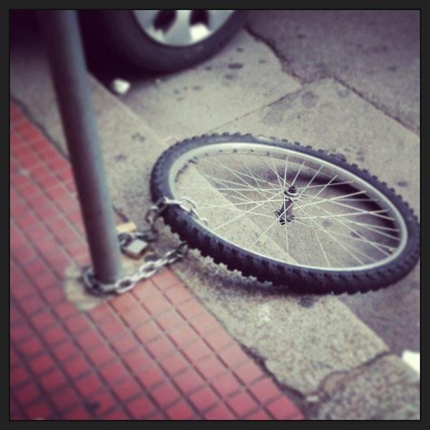 100.000 fietsen per jaar gestolen
