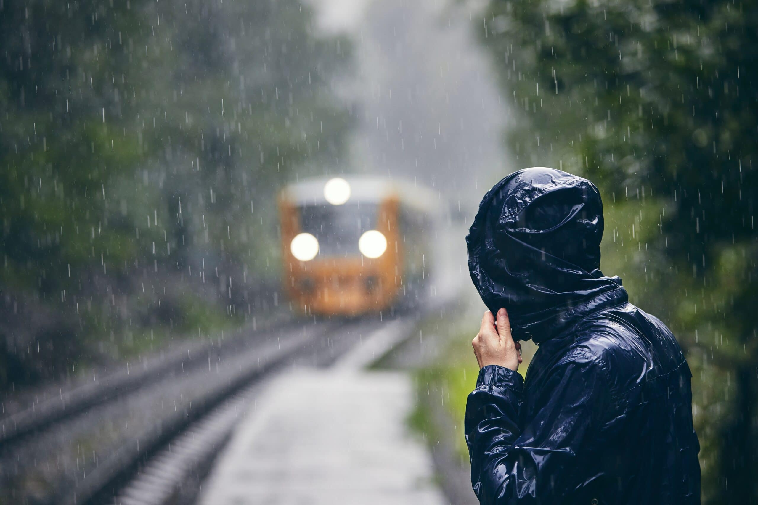 Hevige regenval